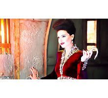 Once upon a time evil queen recolour  Photographic Print