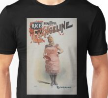 Performing Arts Posters Rices beautiful Evangeline 0781 Unisex T-Shirt