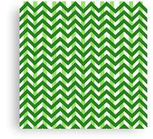 Chevron and Stripes Canvas Print
