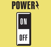 Power on/off Kids Clothes