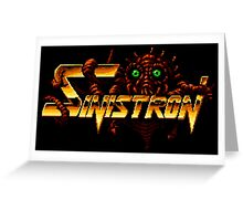Sinistron Greeting Card