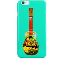 Toy guitar iPhone Case/Skin