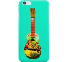 Toy guitar iPhone Case/Skin