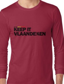 Keep it Vlaanderen Long Sleeve T-Shirt