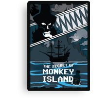 The Secret of Monkey Island - Le Chuck Canvas Print