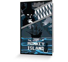The Secret of Monkey Island - Le Chuck Greeting Card