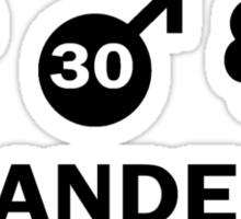 Vlaanderen Weather Sticker