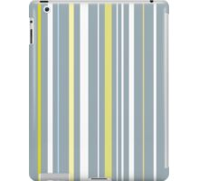 Muted Stripes Alternative Barcode iPad Case/Skin
