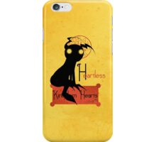 Heartless noir iPhone Case/Skin