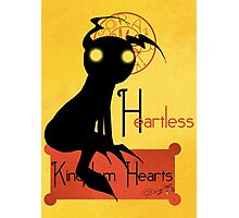 Heartless noir Photographic Print