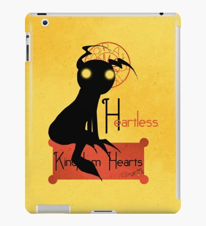 Heartless noir iPad Case/Skin