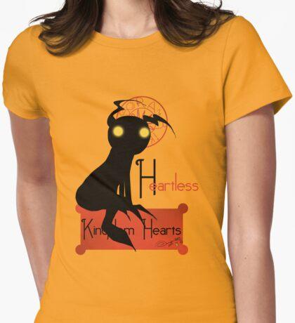 Heartless noir Womens Fitted T-Shirt
