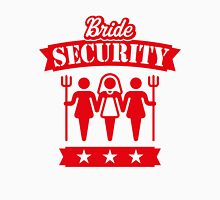 Bride Security (Hen Party / Red) Womens Fitted T-Shirt