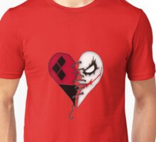 Mad Love Joke and Harley heart Unisex T-Shirt