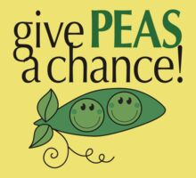 Give PEAS a chance! Kids Tee