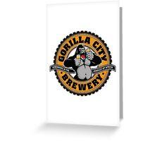 Gorilla City Brewery Greeting Card