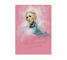 Rose Tyler Art Print