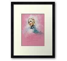 Rose Tyler Framed Print