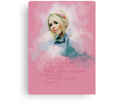 Rose Tyler Canvas Print