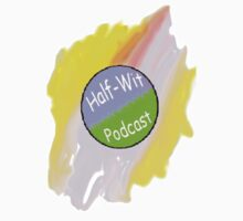 Half-Wit Podcast Logo (Smudge) by camboliusrex