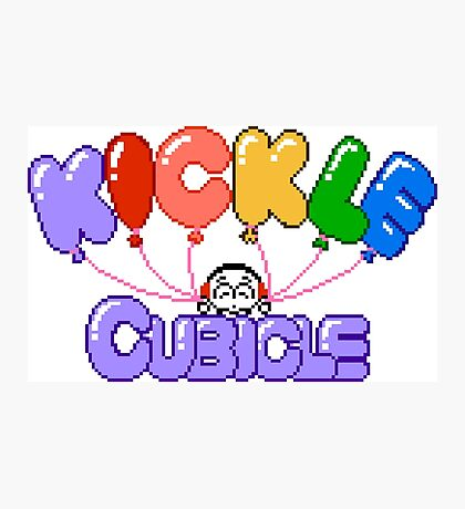Kickle Cubicle - NES Title Screen Photographic Print