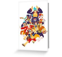 STRONG WORLD  Greeting Card