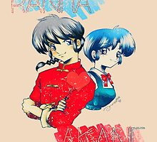 Ranma ♥ Akane by KanaHyde