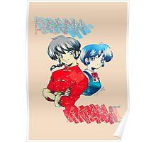 Ranma ♥ Akane Poster