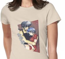 Ranma ♥ Akane 2 Womens Fitted T-Shirt