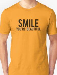 Smile You're Beautiful Unisex T-Shirt