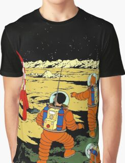 Explorers on the Moon Graphic T-Shirt