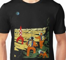 Explorers on the Moon Unisex T-Shirt
