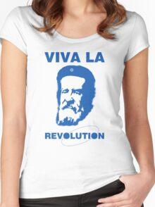 Viva la Revolution Women's Fitted Scoop T-Shirt