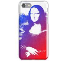 Purple Mona Lisa iPhone Case/Skin