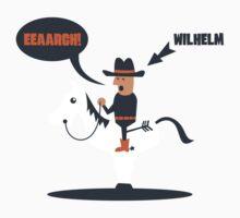 Wilhelm Scream Kids Clothes