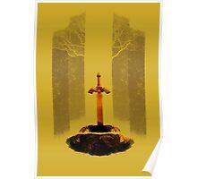 The Legend of Zelda: The Master Sword Poster