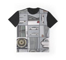 David's Bagged Pearl White Subaru SVX Graphic T-Shirt