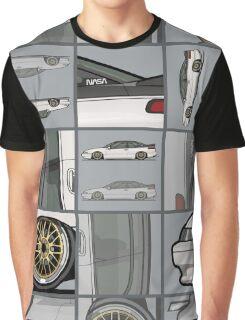 David's Bagged Pearl White Subaru SVX Graphic T-Shirt