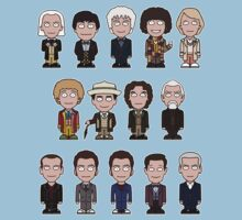 The Fourteen Doctors (shirt) Kids Clothes