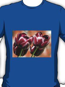 Singing of Spring - Quartet of Tulips T-Shirt