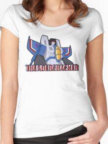 Transformers: Thundercracker Women's Fitted Scoop T-Shirt