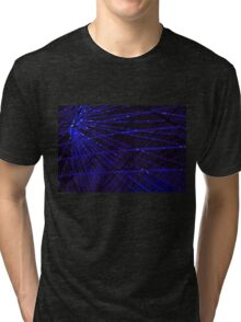 Abstract lens flare space or time travel concept background Tri-blend T-Shirt
