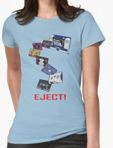 Soundwave: Eject! (colour) Womens Fitted T-Shirt