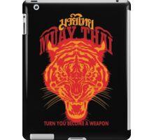 tiger muay thai thailand martial art 2 iPad Case/Skin