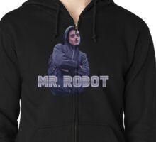 Mr Robot - Hackerman Aesthetic  Zipped Hoodie