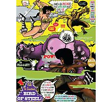 Space Chick & Nympho: Vampire Warrior Party Girl Comix #2 - Comic Book Cover  Photographic Print