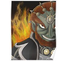 Twilight Princess Ganondorf Poster