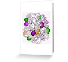 Bright pattern. Summer template. Greeting Card