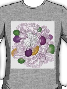 Bright pattern. Summer template. T-Shirt