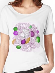 Bright pattern. Summer template. Women's Relaxed Fit T-Shirt